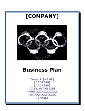Bail Bonds Business Plan template