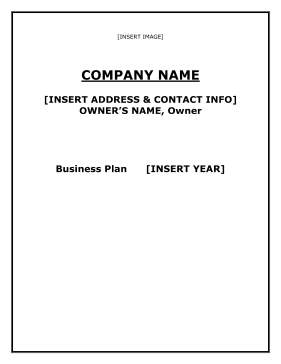 Discount Store Business Plan template
