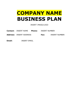 Farm Business Plan - Farm business plan template