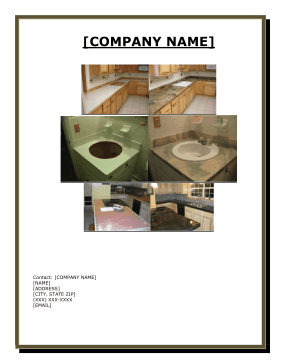 Flooring Installers Business Plan template