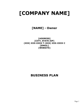 Glass Shop Business Plan template