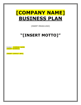Janitorial franchise business plan