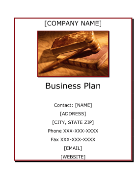 Law Office Business Plan template