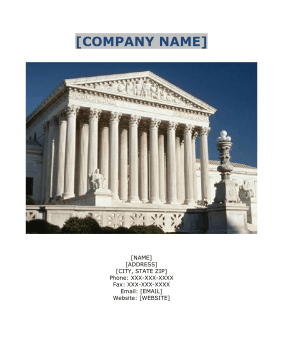 Legal Search Services Business Plan template